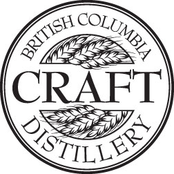 British Columbia Craft Distillery logo shows craft spirits producer, Dragon Mist Distillery in Surrey, BC, is a member of the Craft Distillers Guild in Vancouver
