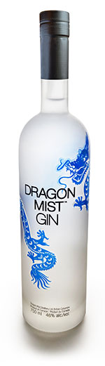 Dragon Mist Gin is made from Dawson Creek wheat, glacier water, and Westcoast botanicals to impart the distinctive gin aroma and flavour