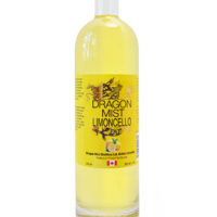 Dragon Mist Limoncello liqueur made from fresh lemons, Dragon Mist Vodka, and sugar — that's all