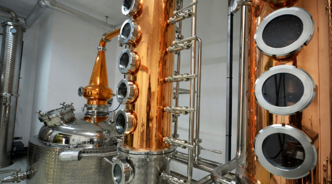 new still for dragon mist distillery